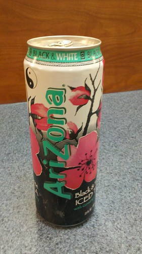 arizona black & white tea