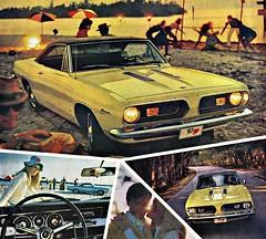 1967 Plymouth  Barracuda Ad
