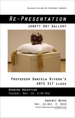 Re-Presentation poster