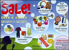 Toys & Games sale 3 Dec 10 - 2 Jan 11