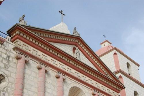 Mission in Santa Barbara