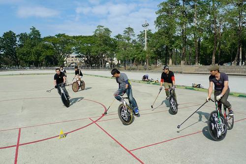 長鬃山羊單車俱樂部: 20110109走打鐵馬球--阿猴城