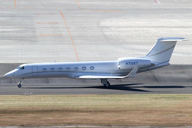 Gulfstream Aerospace G550(N712KT)