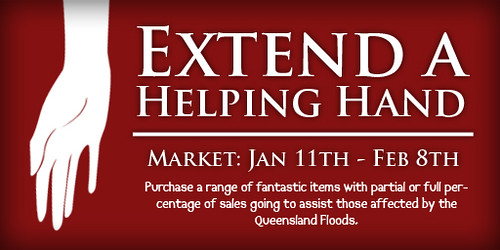 UPDATED Extend a Helping Hand Market Sign