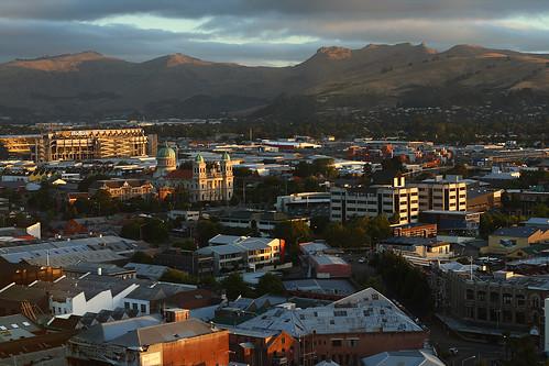 Christchurch cityscape