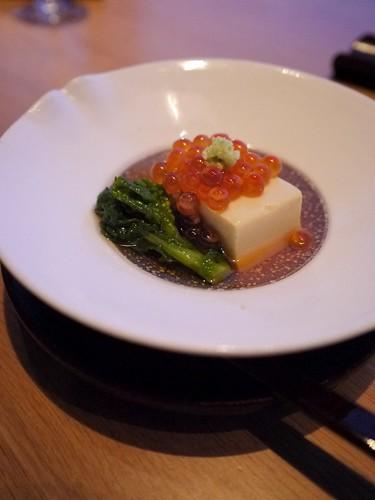 Starter: Herring Roe with Tofu