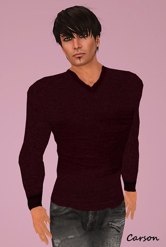 STC Men's Sweater Deep Red