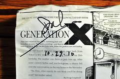Generation X - Original Article (Photocopy) - ...