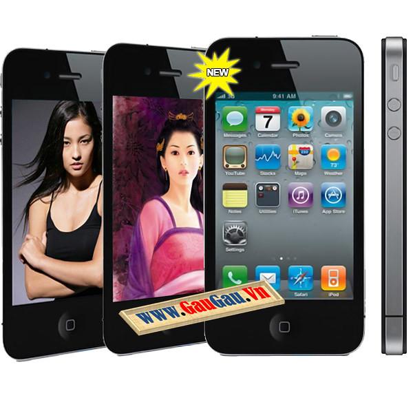 Điện Thoại 2 SIM 2 Sóng Iphone 4G K668 wifi  Hỗ trợ các chức năng giải trí đa phương tiện ( wifi, xem phim, nghe nhac, ...). Menu mang những icon đẹp mắt Chức năng nghe nhạc,Quay phim,chụp ảnh...Hỗ trợ Bluetooth,Java,Fm... xem phim MP4, 3GP, AVI,., Hỗ trợ thẻ nhớ Micro SD 16GB , Loại pin Li-Ion 1000mAh và được nhiều người chú ý nhờ thiết kế tinh tế
