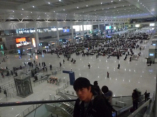 Shanghai train station