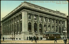 The Bank of Toronto, corner of King and Bay St...