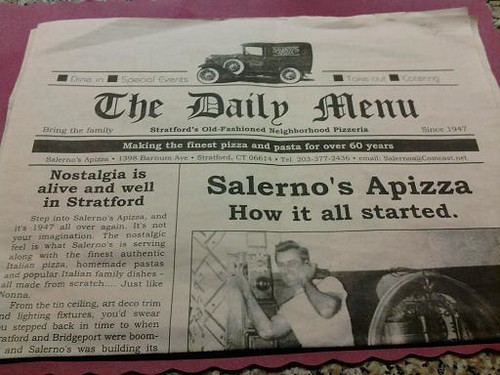 Menu Newspaper