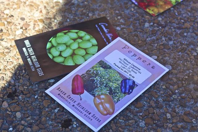 Sample Seedling Packets