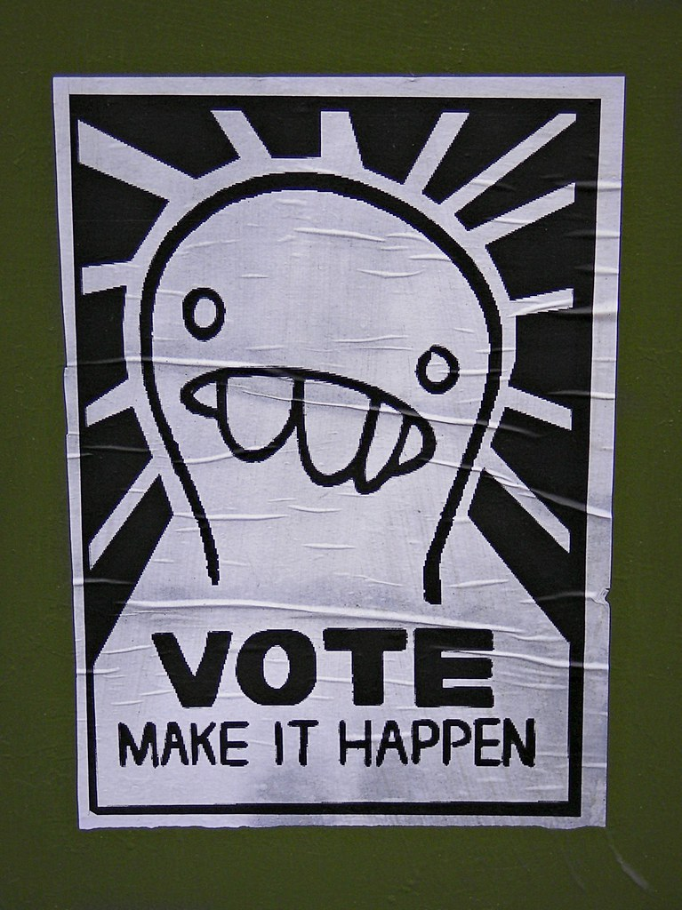 Vote Make it Happen Poster