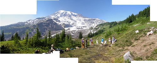 Nisqually Glacier panorama