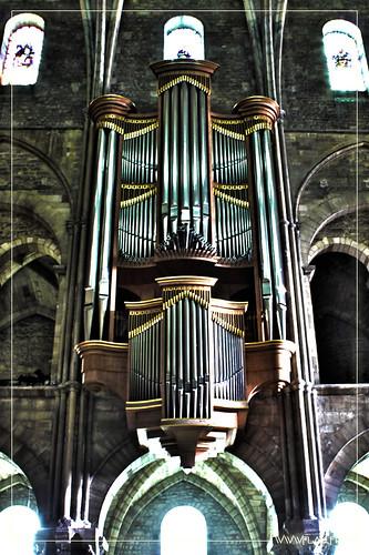 Orgue de la Basilique St Rémi - Reims - France