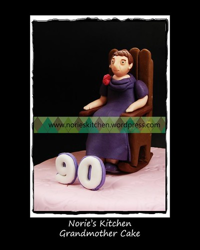 Norie's Kitchen - Grandmother Cake - Topper