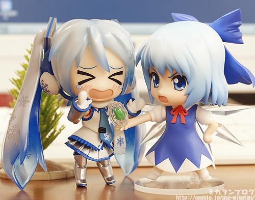 Nendoroid Cirno and Snow Miku SPE