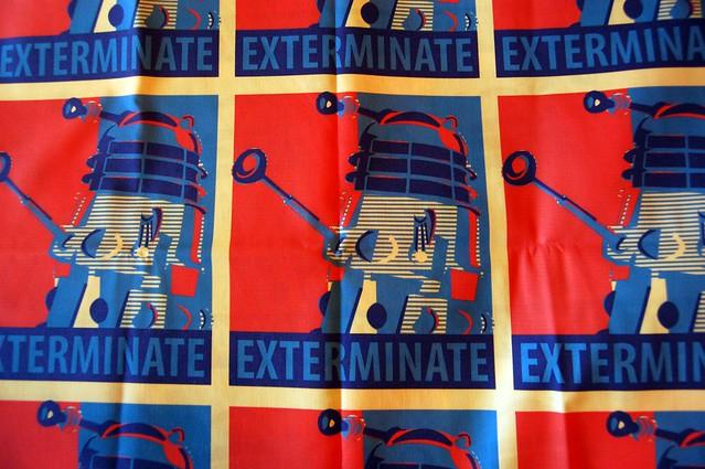 EXTERMINATE Fabric