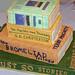 Book cake by skpy