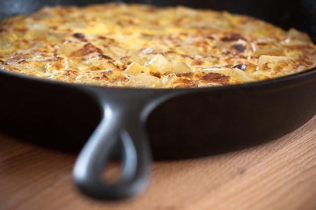 basque potato tortilla