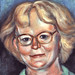 Portrait of my mom