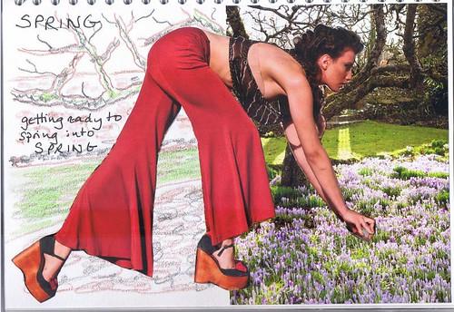art journal - Spring