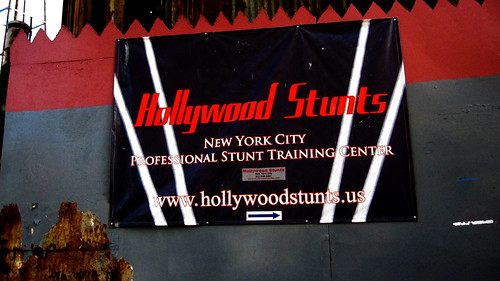 Hollywood Stunts Sign