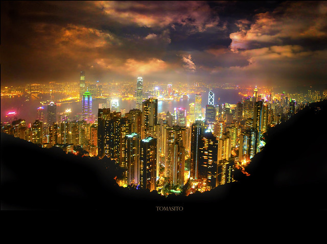 The World's Most Beautiful Skyline Hong kong photography