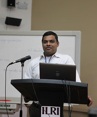 Mohammed Siddiquee, of CARE Bangladesh, at the AgriGender 2011 workshop