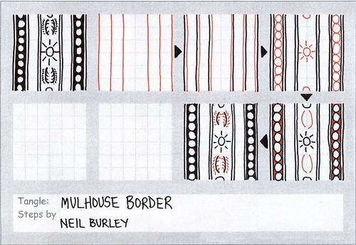 Mulhouse Border - tangle pattern by perfectly4med