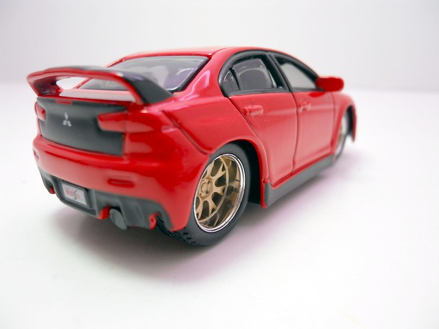 maisto custom shop fifty 5's mitsubishi lancer evolution (4)