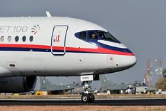 Sukhoi Superjet 100 @ AeroIndia 2010