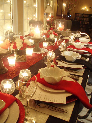 pier one dining chairs christmas chair covers near me delight: valentine dinner party for twelve