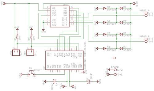 L298 Motor Test V2.sch