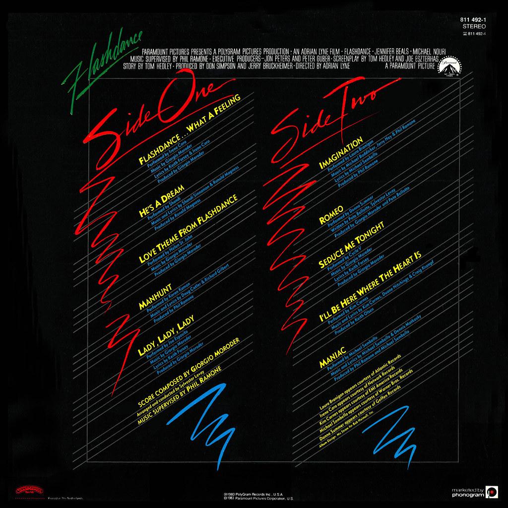 Giorgio Moroder - Flashdance