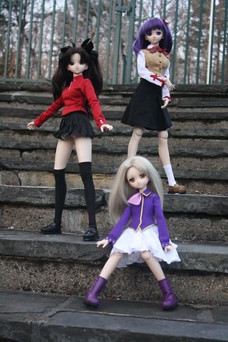 60/365- Illya, Rin and Sakura DD
