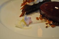 Dessert detail: Taffety Tart