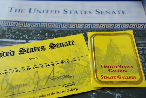 Senate Gallery Pass