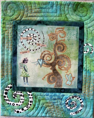 Art Fairy, May Gallery Exhibit @Quiltworks