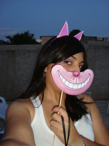 Máscara Cheshire Cat