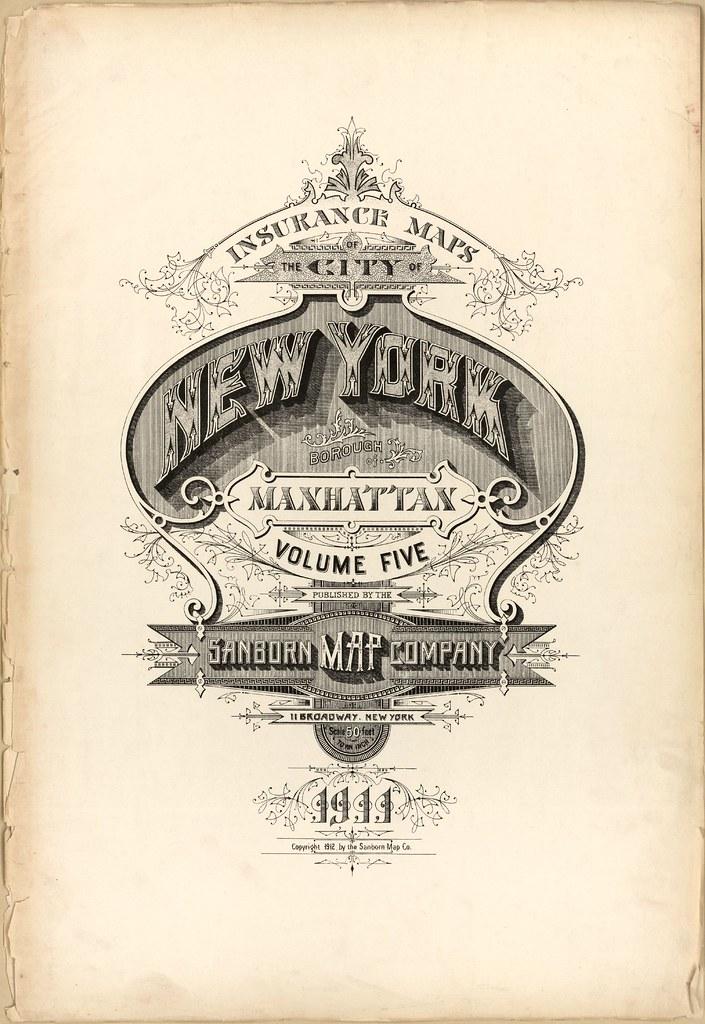 Manhattan, New York 1911