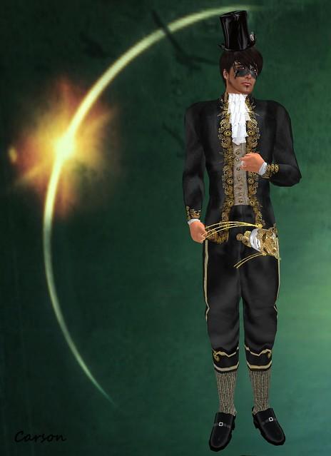 Rag Dollz La Masquerade de Steampunk Men's