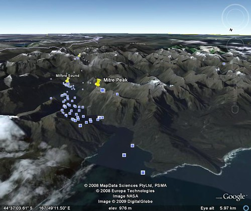 google earth milford sound 9
