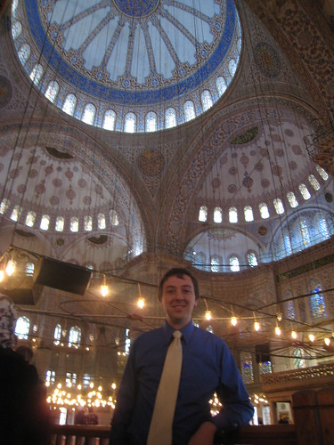 Me in the Blue Mosque