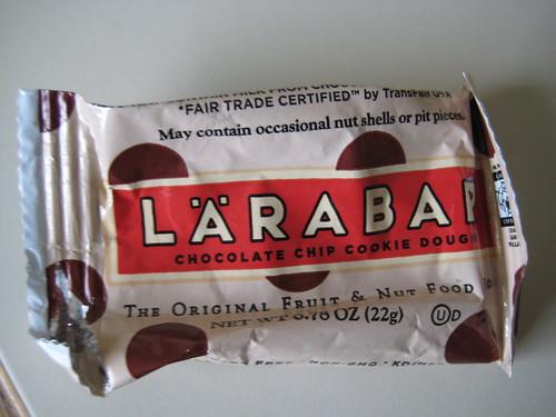 mini-larabar chocolate chip cookie dough