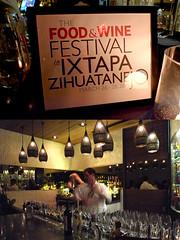 Food & Wine Ixtapa event at Red O