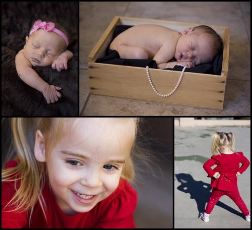 Newborn & Three Years