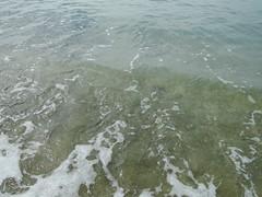 清澈的墾丁小灣海水