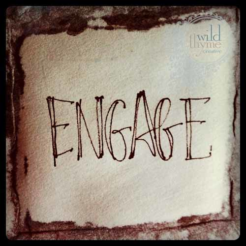 Engage {morning pages}